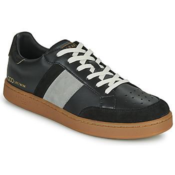 Sko Herre Lave sneakers Serafini WIMBLEDON Sort / Grå