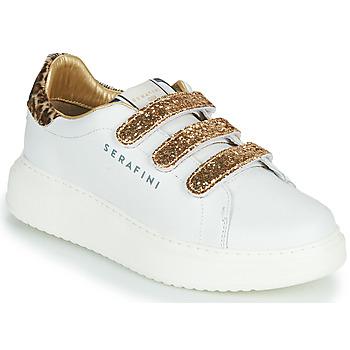 Sko Dame Lave sneakers Serafini J.CONNORS Hvid / Guld