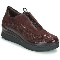 Sko Dame Lave sneakers Stonefly CREAM 21 Bordeaux