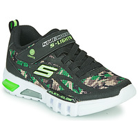 Sko Dreng Lave sneakers Skechers FLEX-GLOW Sort / Kamo / Led