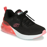 Sko Dame Lave sneakers Skechers SKECH-AIR Sort / Pink