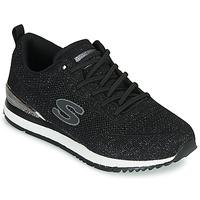 Sko Dame Lave sneakers Skechers SUNLITE Sort