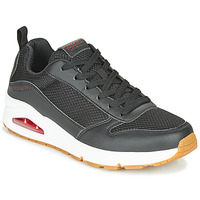 Sko Herre Lave sneakers Skechers UNO FASTIME Sort
