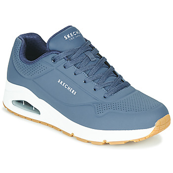 Sko Herre Lave sneakers Skechers UNO STAND ON AIR Marineblå