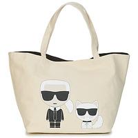 Tasker Dame Shopping Karl Lagerfeld K/IKONIK KARL & CHOUPETTE TOTE Sort