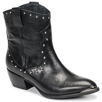 Sko Dame Chikke støvler Ikks BOTTES Sort