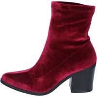 Sko Dame Høje støvletter Fornarina Ankelstøvler BM167 Violet