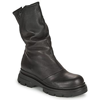 Sko Dame Chikke støvler Papucei LUZ Sort
