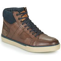 Sko Herre Høje sneakers Redskins CIZAIN Brun