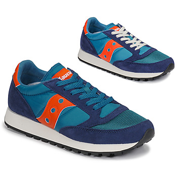 Sko Herre Lave sneakers Saucony JAZZ VINTAGE Blå / Orange