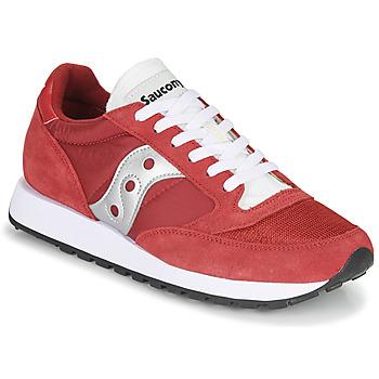Sko Herre Lave sneakers Saucony JAZZ VINTAGE Rød / Hvid