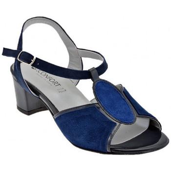 Sko Dame Sandaler Confort  Blå