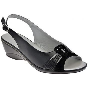 Sko Dame Sandaler Confort  Sort