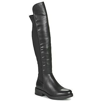 Sko Dame Chikke støvler Xti 44395 Sort