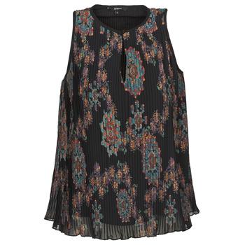 textil Dame Toppe / T-shirts uden ærmer Desigual MIRA Blå