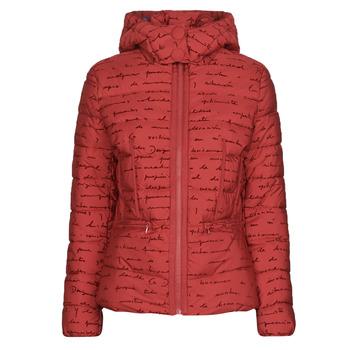 textil Dame Dynejakker Desigual NATASHA Rød