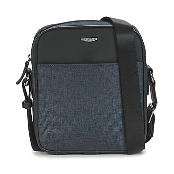 Tasker Herre Bæltetasker & clutch  Hexagona MERCURE Blå