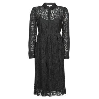 textil Dame Korte kjoler Cream ALICIA DRESS Sort