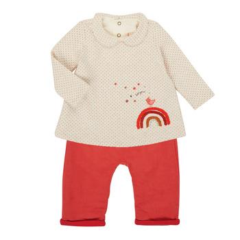 textil Pige Sæt Catimini CR36031-60 Pink