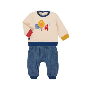 textil Dreng Sæt Catimini CR36050-46 Flerfarvet