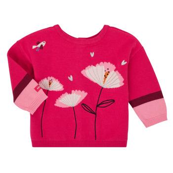 textil Pige Veste / Cardigans Catimini CR18033-35 Pink