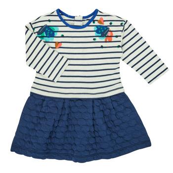 textil Pige Korte kjoler Catimini CR30133-12 Flerfarvet