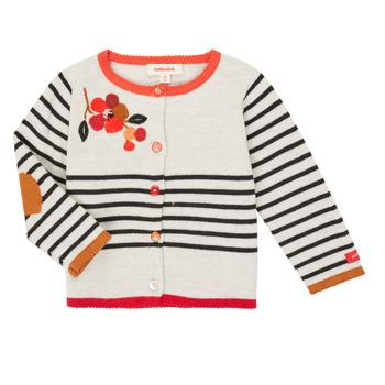 textil Pige Veste / Cardigans Catimini CR18003-19 Flerfarvet