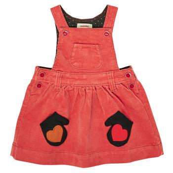 textil Pige Korte kjoler Catimini CR31003-67 Rød
