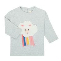 textil Pige Langærmede T-shirts Catimini CR10093-21 Grå