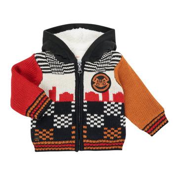 textil Dreng Veste / Cardigans Catimini CR18062-17 Flerfarvet