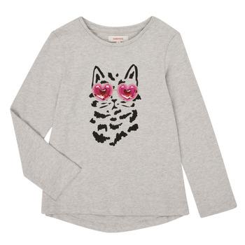 textil Pige Langærmede T-shirts Catimini CR10275-26-J Grå