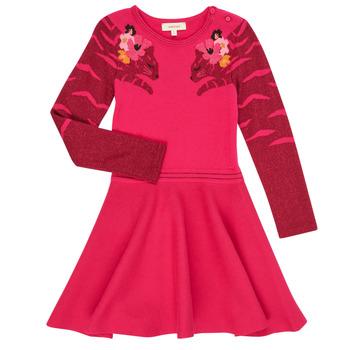 textil Pige Korte kjoler Catimini CR30085-35 Pink