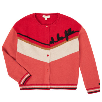 textil Pige Veste / Cardigans Catimini CR18015-67-C Flerfarvet