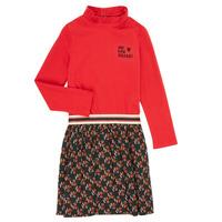 textil Pige Korte kjoler Catimini CR30035-38-C Flerfarvet