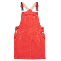 textil Pige Korte kjoler Catimini CR31025-67-C Rød