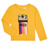 textil Pige Langærmede T-shirts Catimini CR10135-72-C Gul