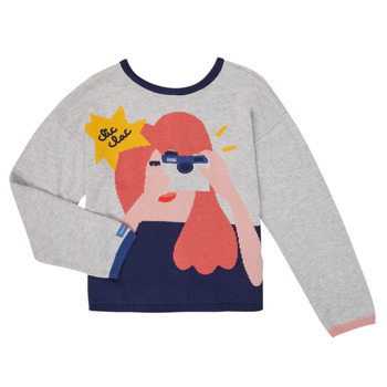 textil Pige Veste / Cardigans Catimini CR18055-21-C Flerfarvet