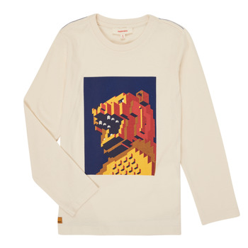 textil Dreng Langærmede T-shirts Catimini CR10064-17-C Hvid