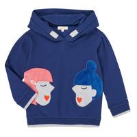 textil Pige Sweatshirts Catimini CR15065-46-J Blå