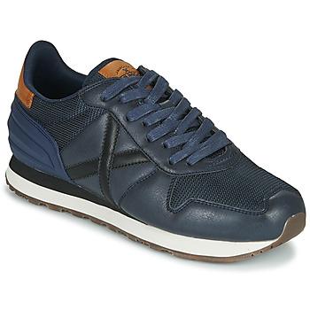 Sko Herre Lave sneakers Munich MASSANA Blå
