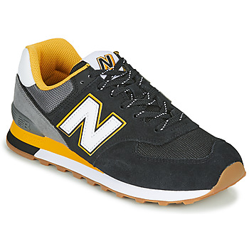 Sko Herre Lave sneakers New Balance 574 Sort / Gul