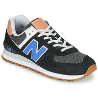 Sko Herre Lave sneakers New Balance 574 Sort / Blå