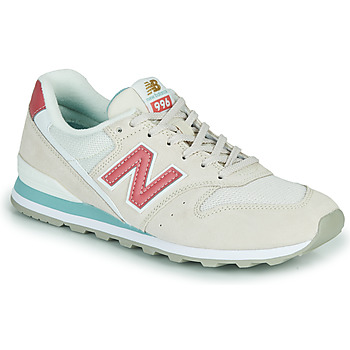 Sko Dame Lave sneakers New Balance 996 Beige / Pink