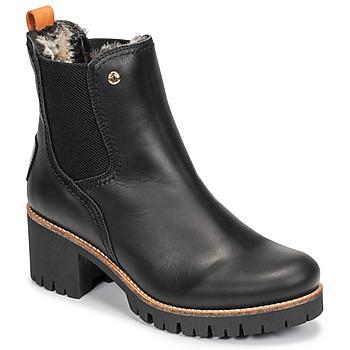 Sko Dame Støvler Panama Jack PIA Sort