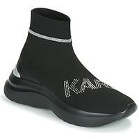 Sko Dame Høje sneakers Karl Lagerfeld SKYLINE KARL RHINESTONE PULL ON BT Sort