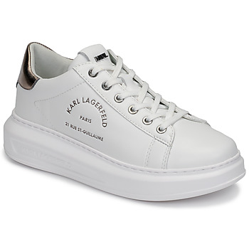 Sko Dame Lave sneakers Karl Lagerfeld KAPRI MAISON KARL LACE Hvid
