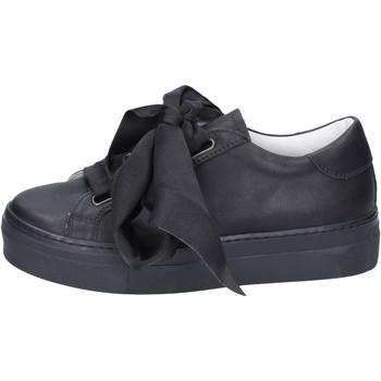 Sko Dame Sneakers Lemaré sneakers pelle Nero