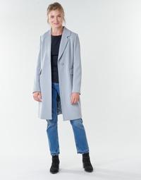 textil Dame Frakker Benetton 2AMH5K2R5 Grå