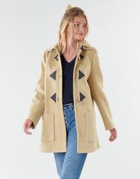 textil Dame Frakker Benetton 2BZP53655 Beige