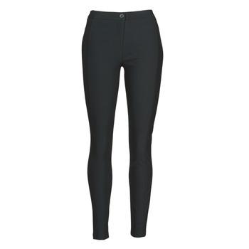 textil Dame Løstsiddende bukser / Haremsbukser Benetton 4SK755944 Sort